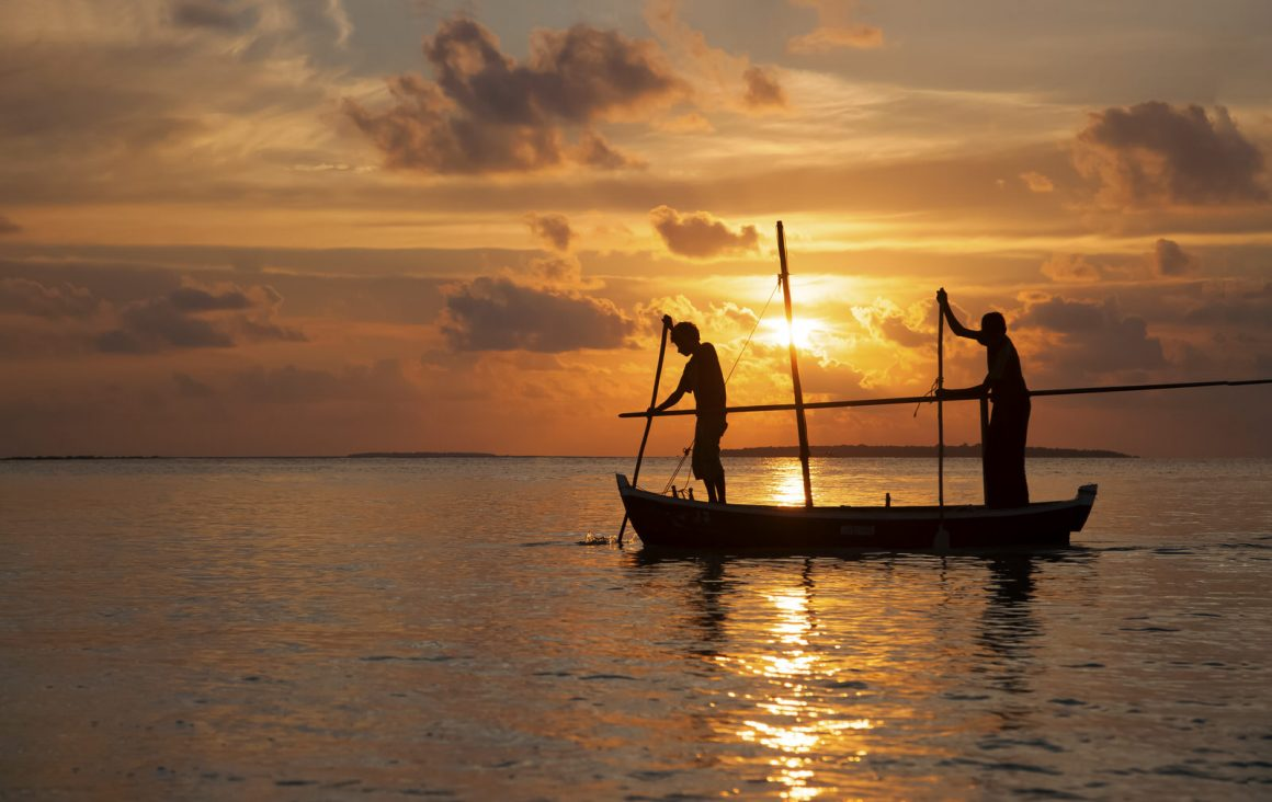 Sunsets of Maldives