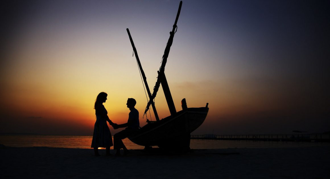 maldives romantic sunset photography