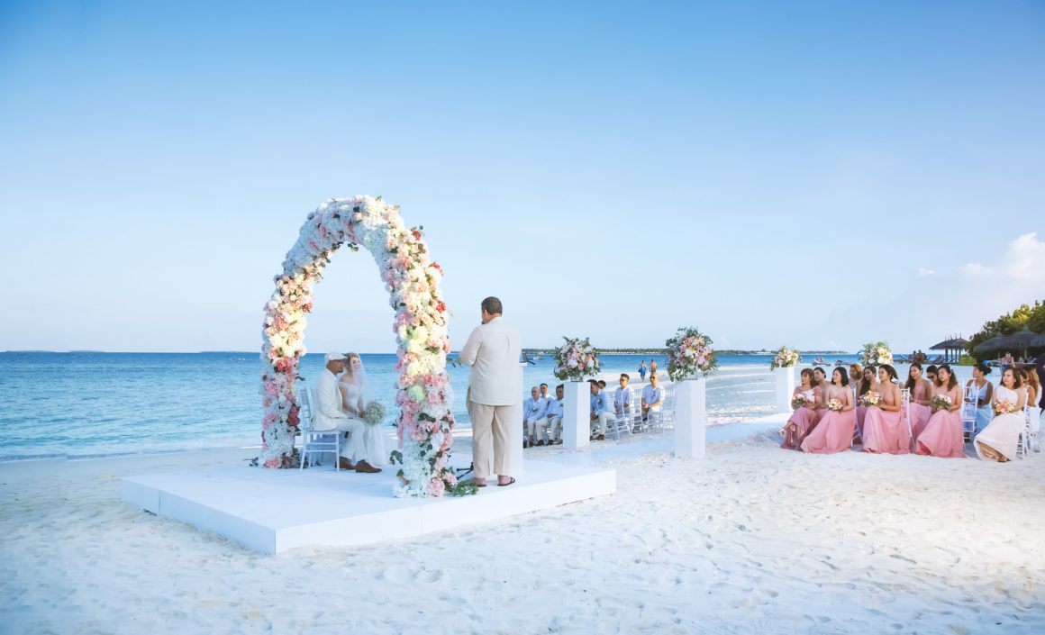 maldives beach wedding venues photography