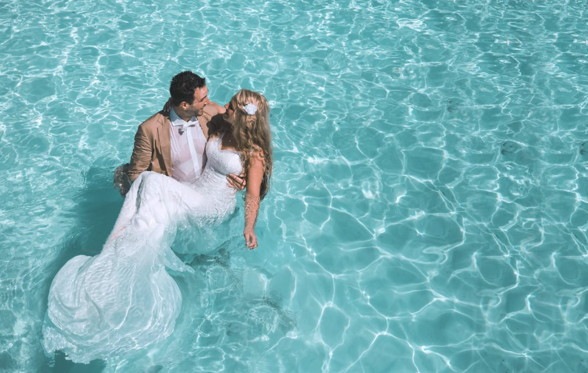 Couple Photography in Maldives Lagoon