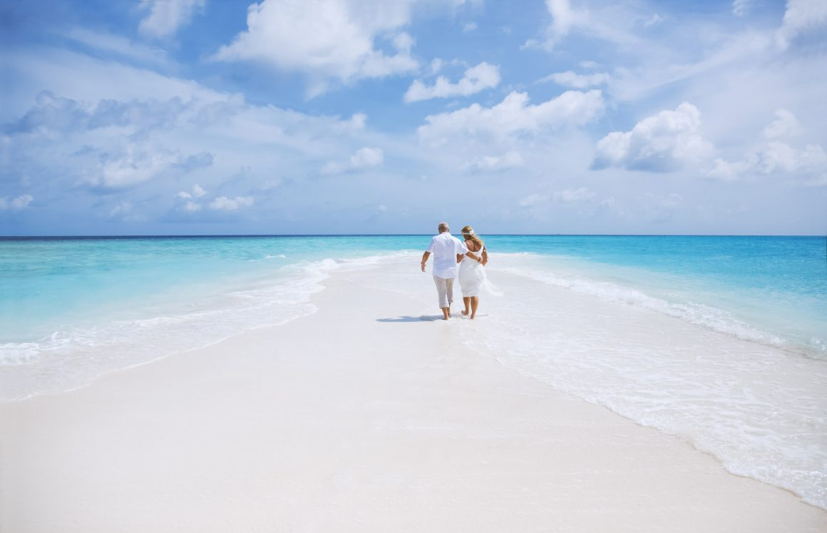 Maldives photographer wedding beach photo