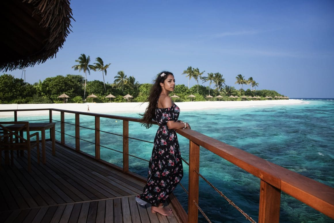 a view of my dream holiday maldives island photography