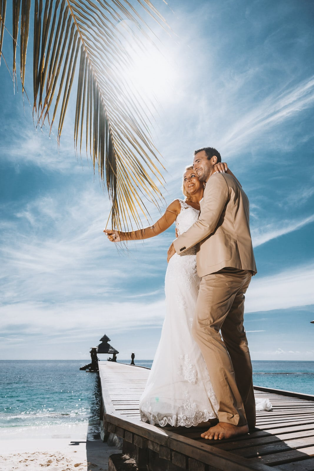 photography of resort wedding portrait session in maldives