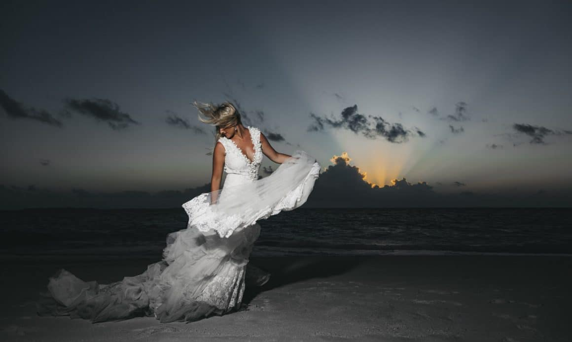 creative bridal fine art photography in maldives