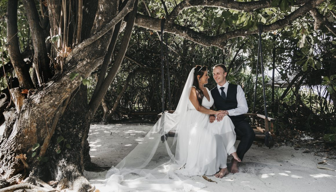 bridegroom maldives nature photograph